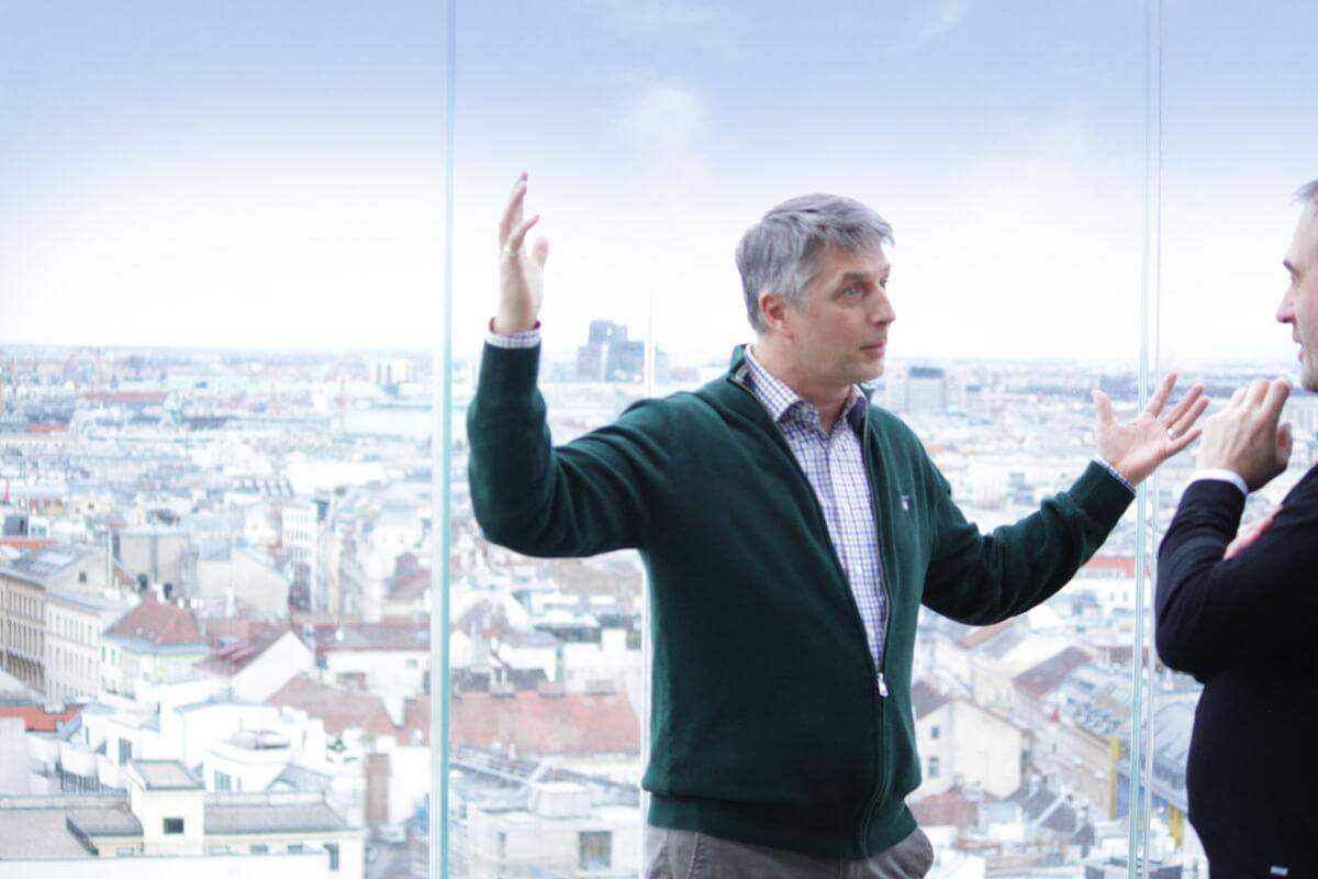 Haus des Meeres, Geschäftsführer Hans Köppen im Interview